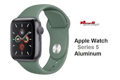 مواصفات ساعة آبل وتش الفئة 5 الألمنيوم - Apple Watch Series 5 Aluminum   ساعة آبل وتش Watch Series 5 Aluminum  الإصدارات: A2156, A2157, A2094, A2095  مواصفات و سعر ساعة آبل وتش Apple Watch Series 5 Aluminum -  الامكانيات و الشاشه ساعة آبل وتش Apple Watch Series 5 Aluminum -  البطاريه و المميزات و العيوب ساعة آبل وتش Apple Watch Series 5 Aluminum .
