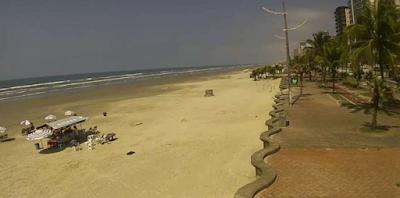 câmera ao vivo da praia do caiçara praia grande são paulo