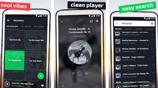 aplikasi pemutar musik di android  terbaik & gratis - online & offline- music stream hub