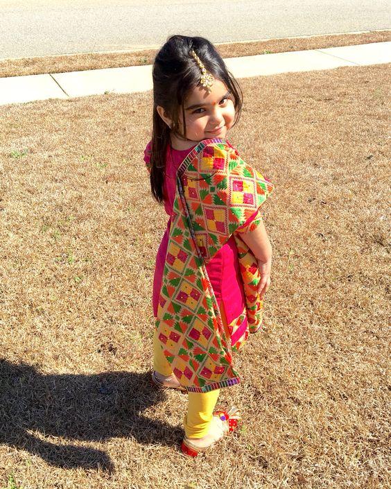 Indian Fashion Trends: Punjabi Wear Dresses For Kids ...