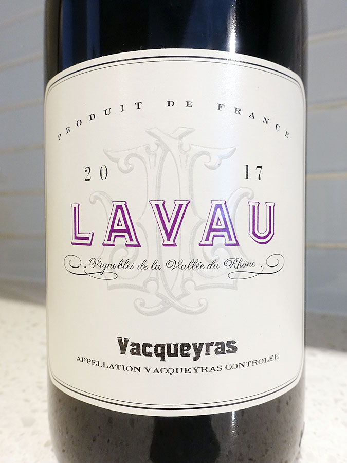 Lavau Vacqueyras 2017 (91 pts)