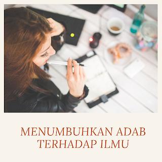 Belajar menuntut ilmu