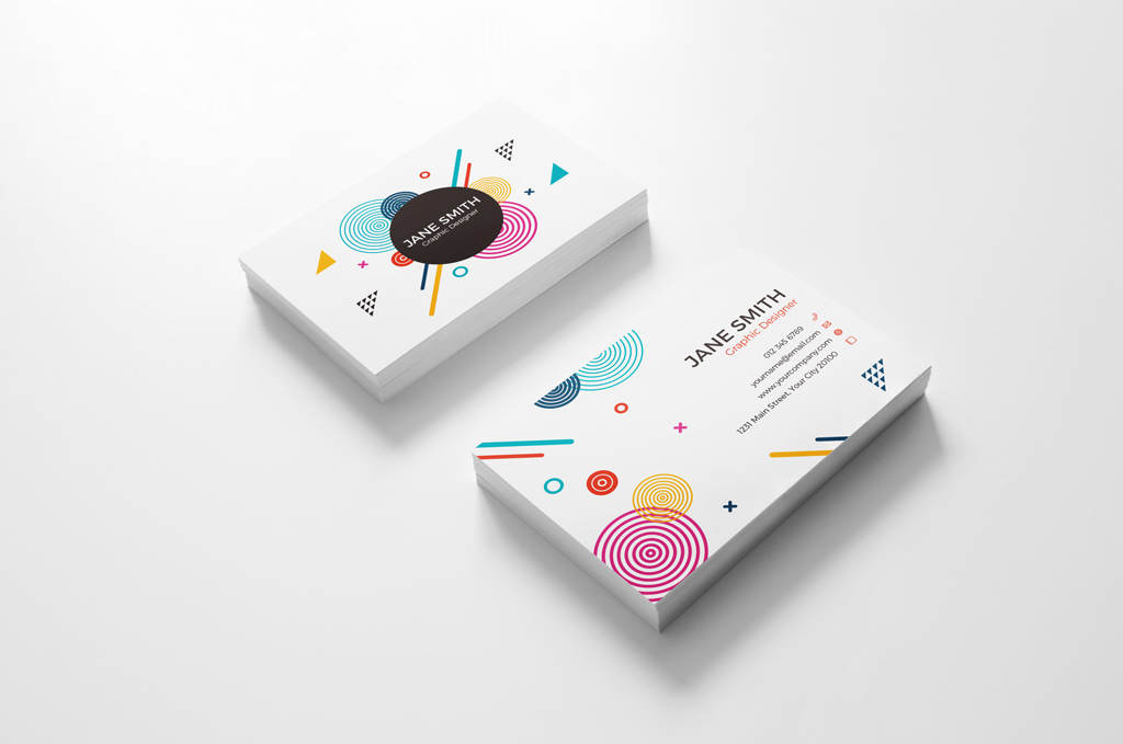 Business Cards Mockup Collection