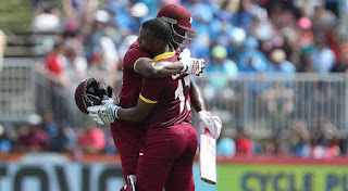 Evin Lewis 100 vs India Highlights