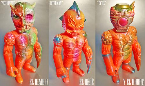 Collecting Toyz Paul Kaiju S El Diablo El Bebe Amp Y El