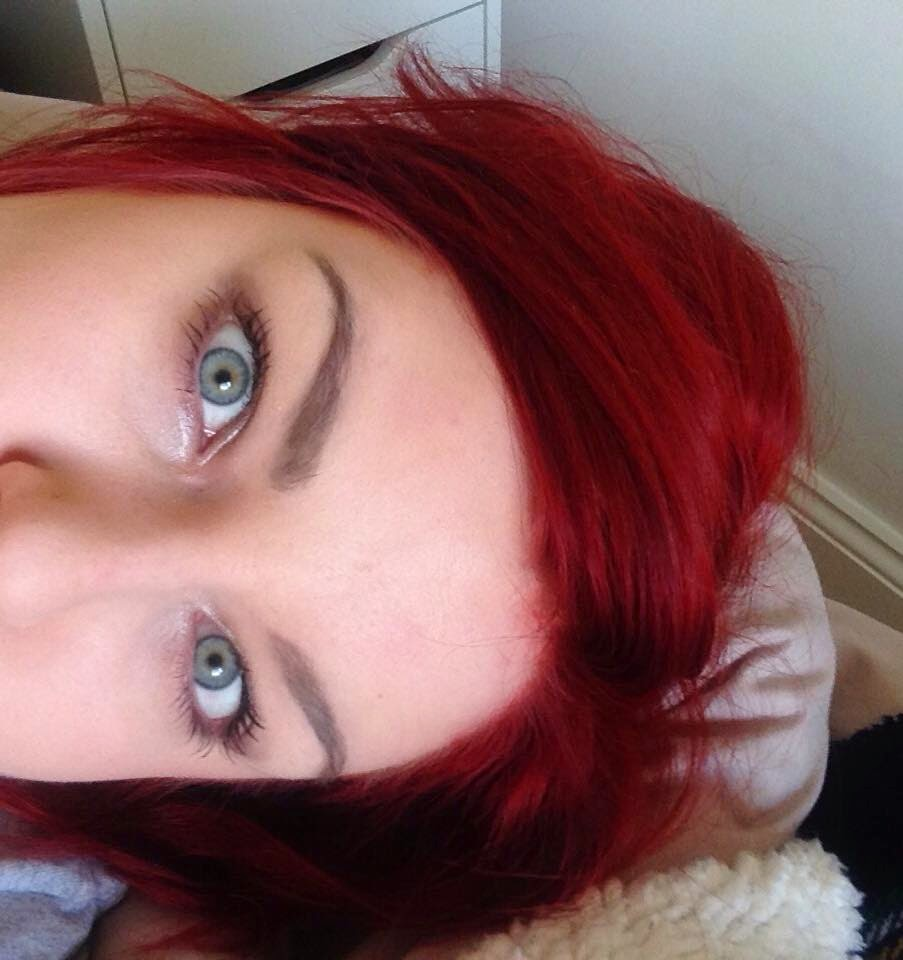 Seeing Red Garnier Olia 6 60 Hairdye Review Lovefromlucky