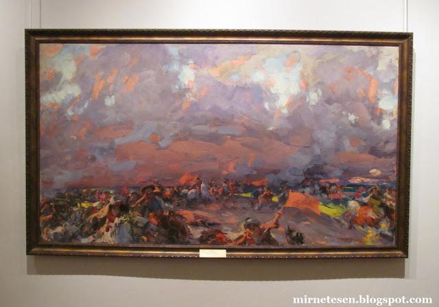 Художественный музей в Рязани - Октябрь в деревне