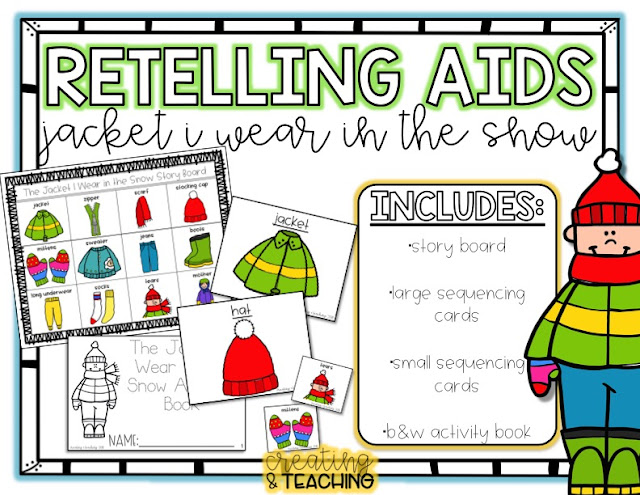 https://www.teacherspayteachers.com/Product/Re-Telling-Aids-Jacket-in-the-Snow-3646469