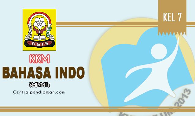 KKM Bahasa Indonesia SMP Kelas 7 K13 Edisi Tahun 2021/2022