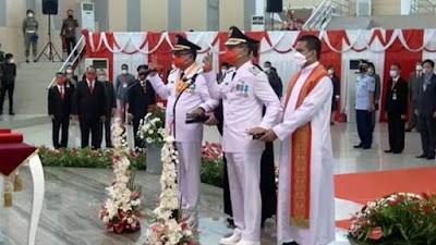Usai diLantik Walikota Wakil Walikota Bitung Mantiri-Honandar Sasar UMKM