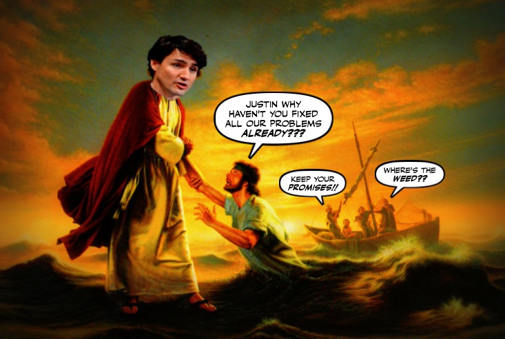 Montreal simon justin trudeau and the farcical youth for Farcical person