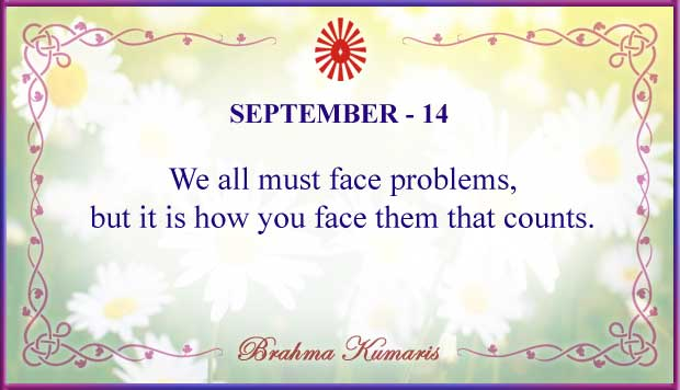 Thought For The Day September 14