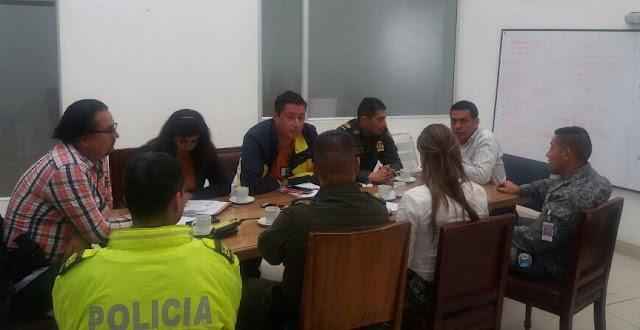 Autoridades de Madrid adelantan comité de seguridad en la alcaldía municipal