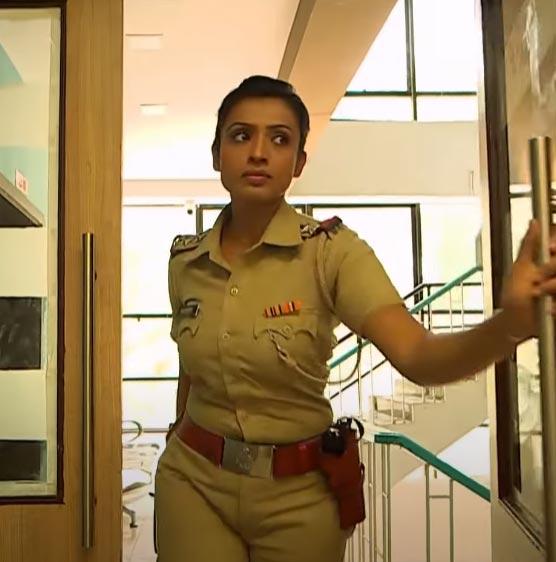 Crime Patrol actress Alefia Kapadia in the role of  police inspector