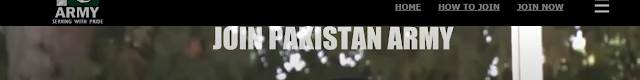 Join Pak Army as Soldier 2021     بطور سولجر آن لائن رجسٹریشن پاک آرمی میں شامل ہوں