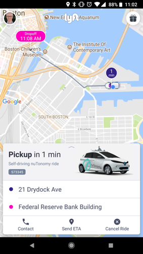 lyft and nutonomy launch robo taxi service in boston carscoops. Black Bedroom Furniture Sets. Home Design Ideas
