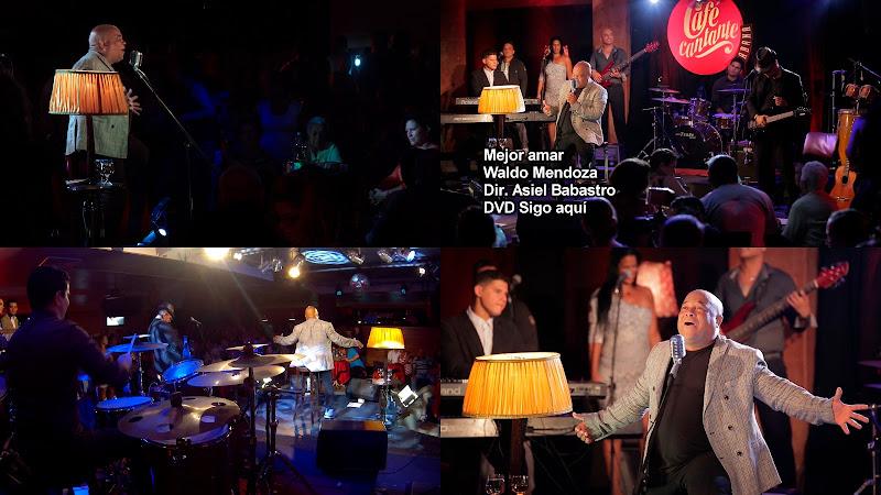 Waldo Mendoza - ¨Mejor amar¨ - Videoclip - Dirección: Asiel Babastro. Portal del Vídeo Clip Cubano