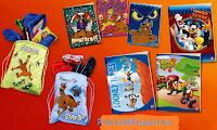 Logo Sacca Scooby-Doo + 6 quaderni a soli euro 7,99