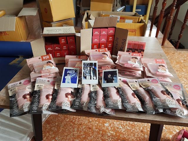 Jasa Titip Thailand dan Impor ke Indonesia, JasTip REMEMBERTHAI Blackpink Fan Olay Body Wash