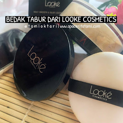 [REVIEW] Looke Cosmetics Holy Smooth & Blur Loose Powder Shade Terra