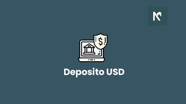 Cara menabung deposito dengan mata uang dollar USD