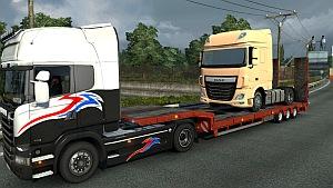 DAF Euro 6 as trailer