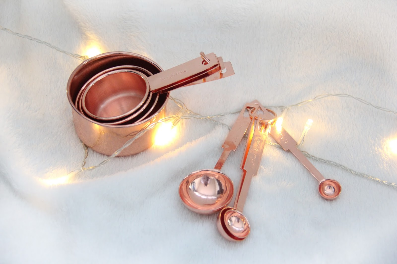 Copper Baking Utensils from Asda.