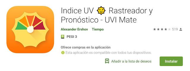 Indice UV 🌞 Rastreador y Pronóstico - UVI Mate