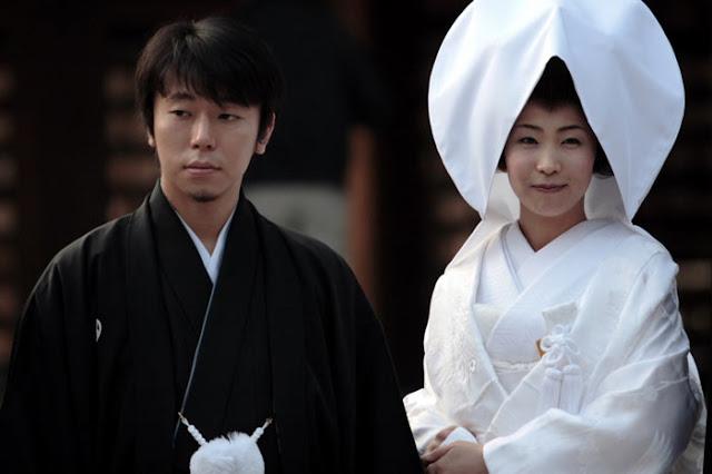 فستان الزفاف التقليدي في اليابان