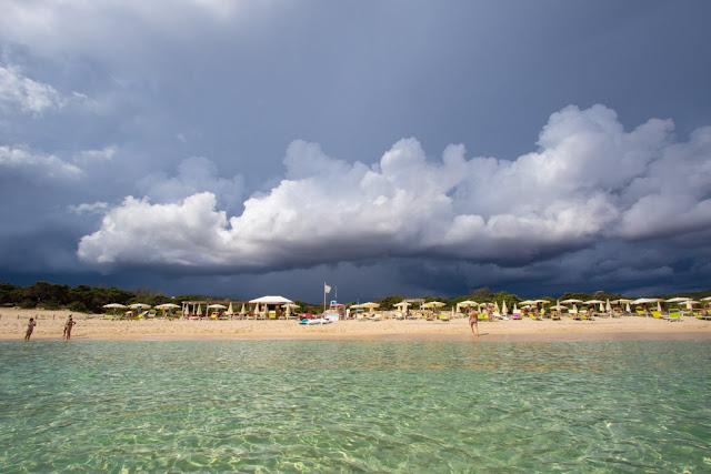 Spiaggia del Villas resort hotel-Castiadas