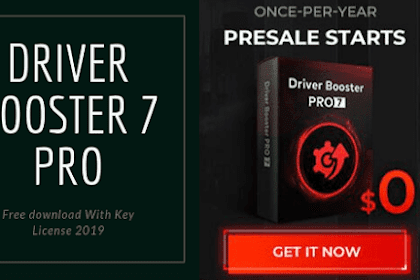 IObit Driver Booster 7 PRO With License Key