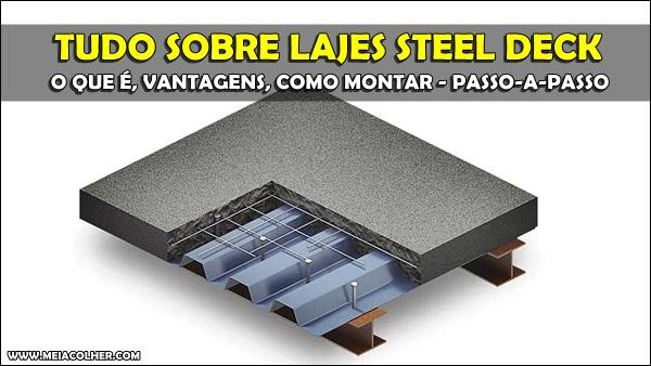 Laje mista Steel Deck