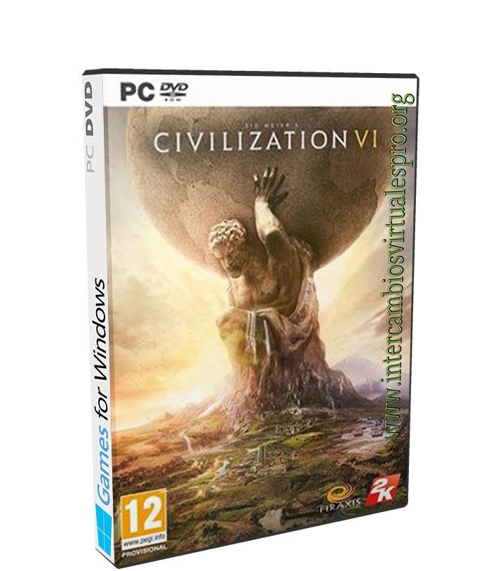 Sid Meiers Civilization VI poster box cover