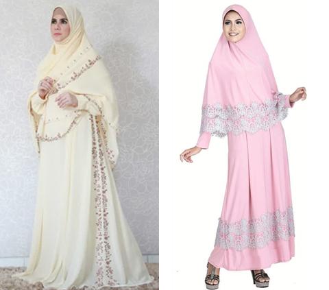 model baju muslimah syari
