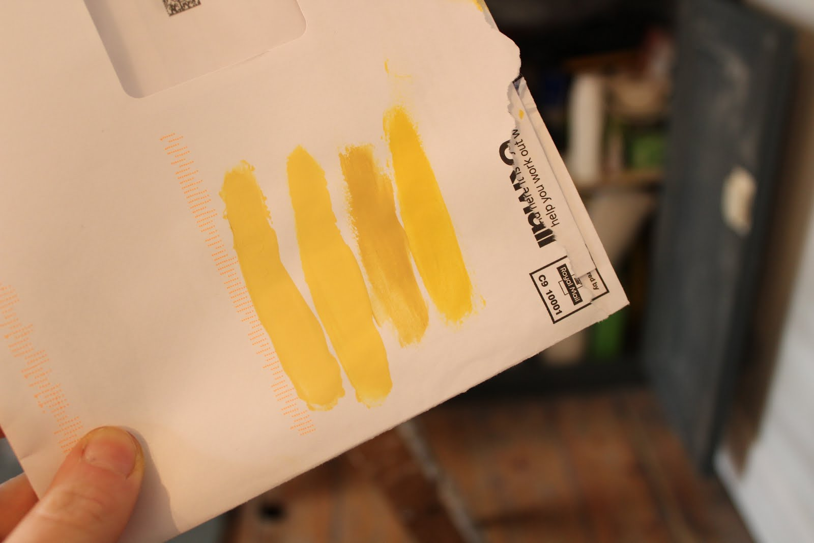 Farrow and Ball Yellow Paint
