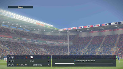PES 2019 Stadium Premier League & EFL Championship Boards by Buzzy