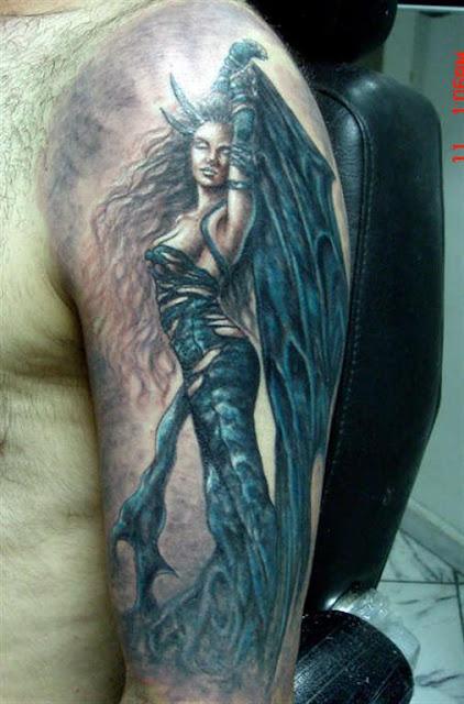 Dark Angel Tattoo 2012
