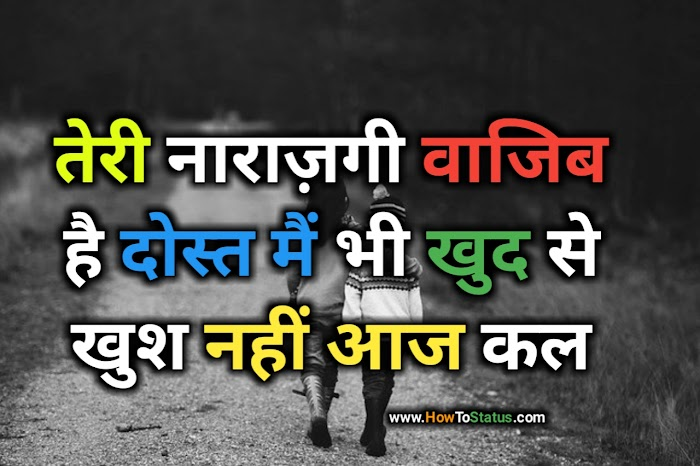 Desi sad emotional status Hindi