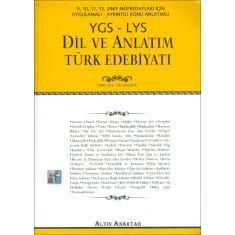 Altın Anahtar 9 10 11 12. Sınıf YGS LYS Dil ve Anlatım Türk Edebiyatı (2017)