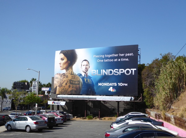 Blindspot season 1 billboard