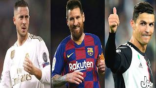 أكثر 10 لاعبي كرة قدم إحرازا للألقاب لعام 2020