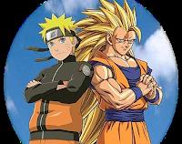 gambar naruto dan son goku dragon ball