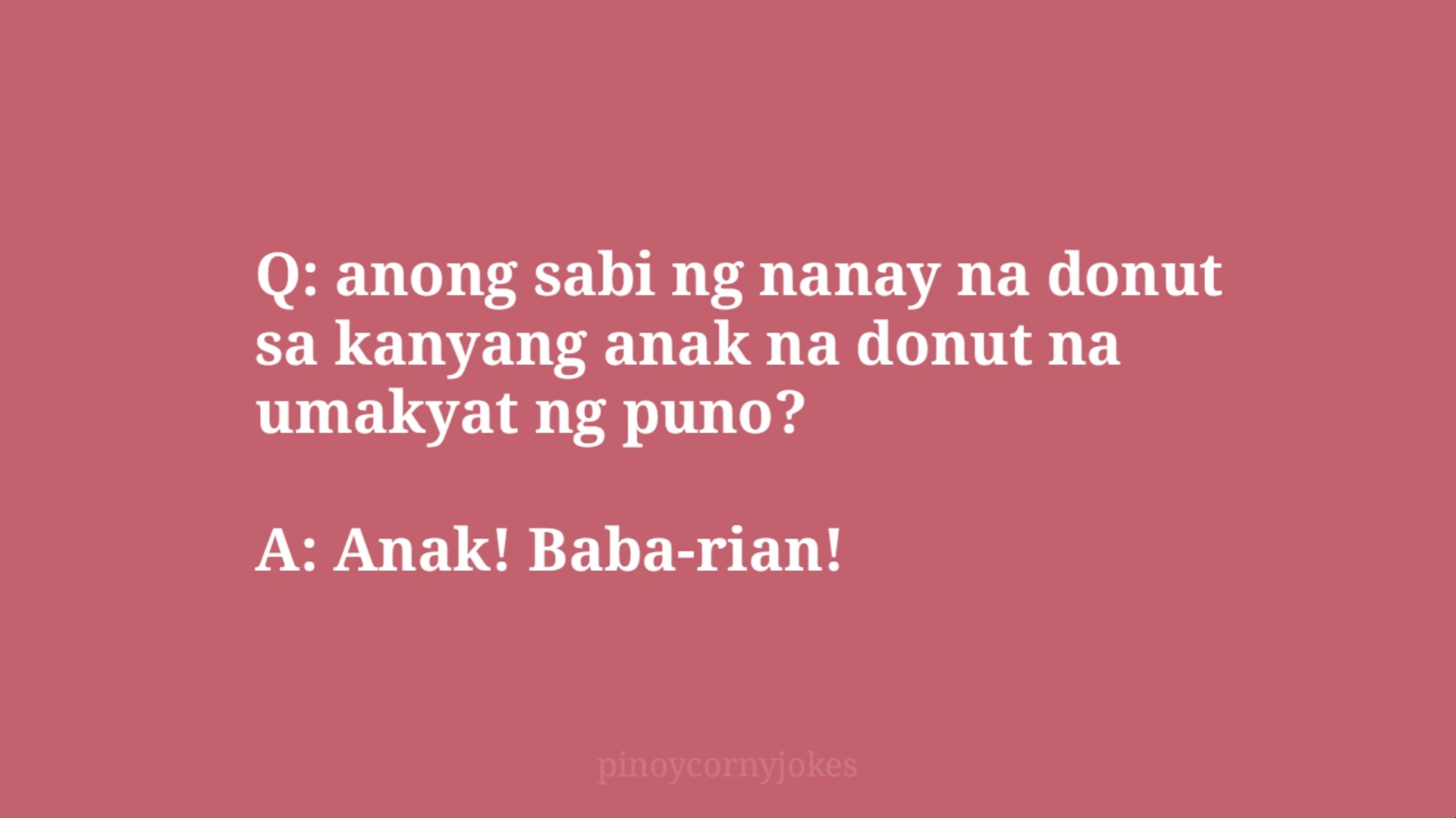 babarian pinoy jokes question and answer