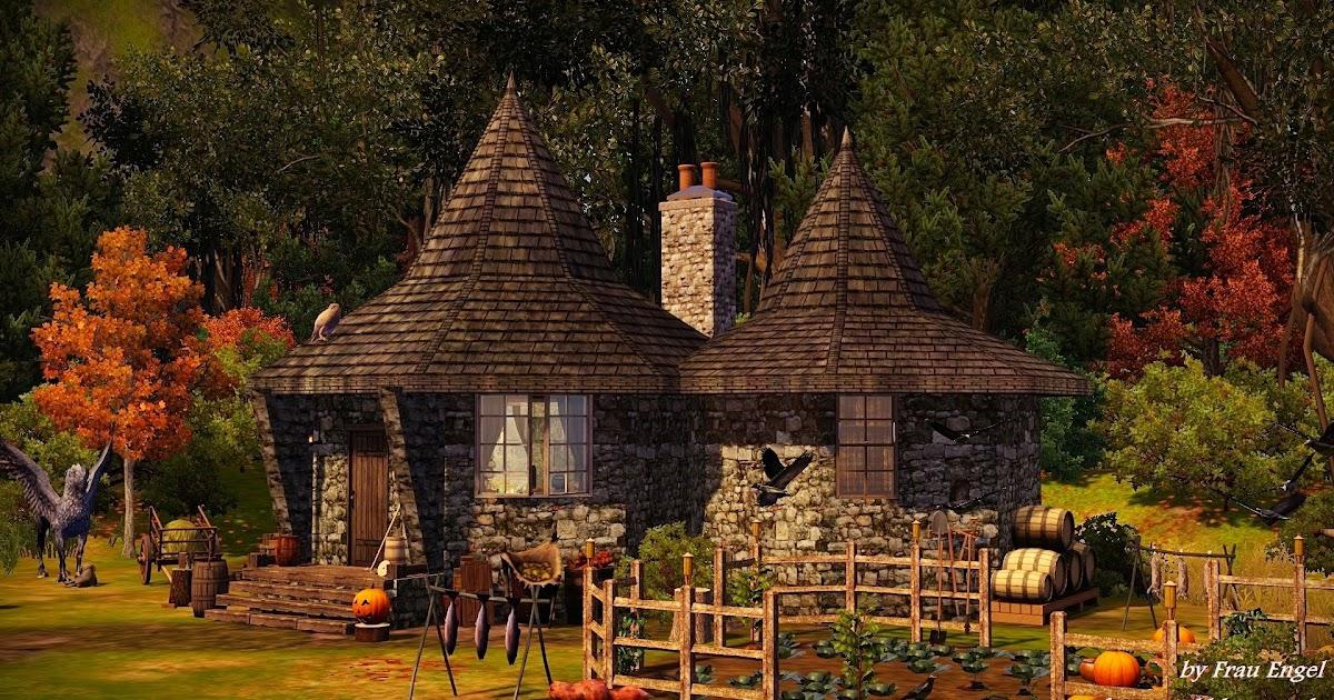 Frau Engel Hagrid S Home: what house was hagrid in