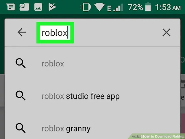 Download-ROBLOX-Step-7-by using playstore