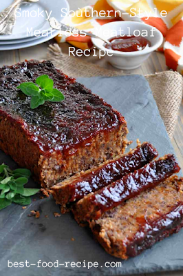 Smoky Soùthern-Style Meatless Meatloaf Recipe