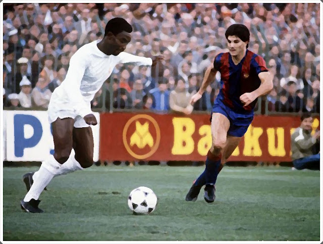 Laurie Cunningham Real Madrid Barcelona