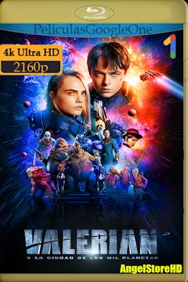 Valerian (2017) [4K UHD [HDR] [Latino-Inglés] [Google Drive]