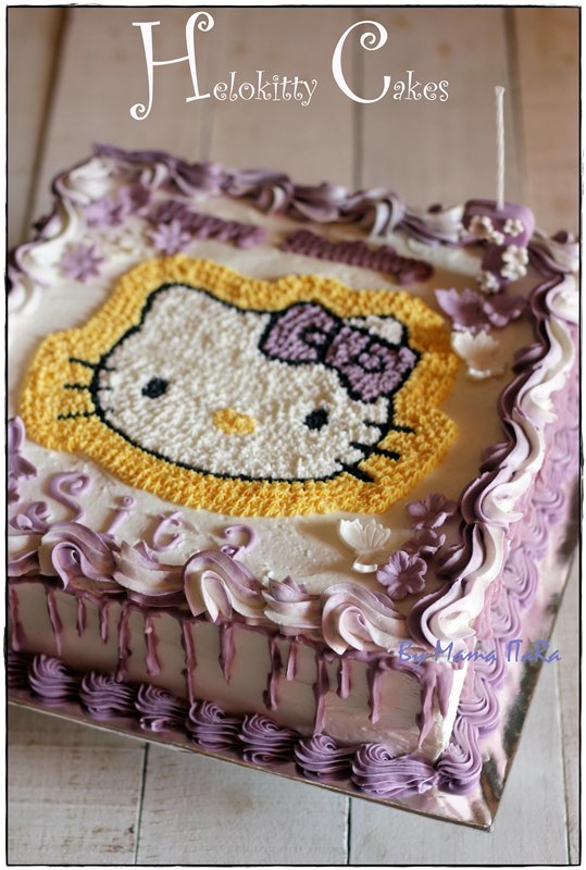 Dapur Itara Purple Hellokitty Tart
