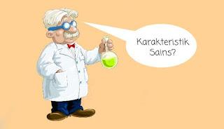 Ciri Karakteristik Sains